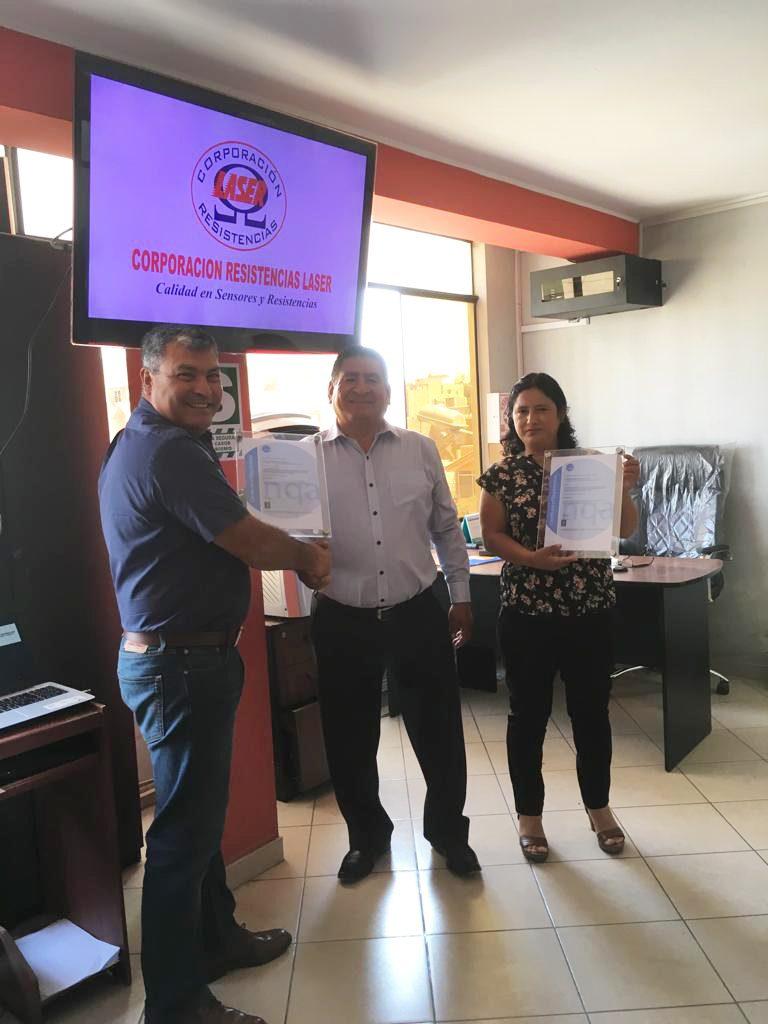 CERTIFICADO ISO:9001:2015 y ISO:45001:2018
